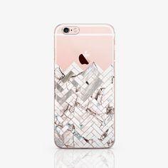6 cas clair iPhone SE cas pour Galaxy S6 Edge cas géométrie iPhone téléphone étui pour Samsung A Case iPod Touch blanc pour Samsung 6 c079 en marbre