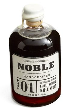 Noble 'Tonic 01' Bourbon Maple Syrup available at #Nordstrom