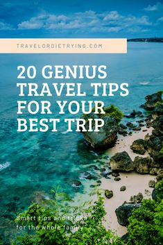 20 genius travel hacks for a stress-free holiday. These travel tips will save you money time and space! 20 Epic travel hacks for a great vacation. tips hacks Packing Tips For Travel, Travel Goals, Travel Advice, Travel Guides, Travel Hacks, Packing Lists, Budget Travel, Travel Info, Travel Essentials