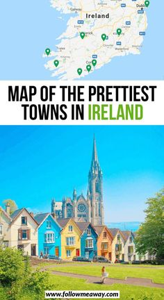 Map of the most beautiful cities in Ireland 10 Most Beautiful Small Towns in Ireland Map . - Map of the most beautiful cities in Ireland 10 most beautiful small towns in Ireland map … – # Small Towns - Cool Places To Visit, Places To Travel, Travel Destinations, Places To Go, Travel Tips, Travel Goals, Vacation Places, Travel Hacks, Travel Essentials