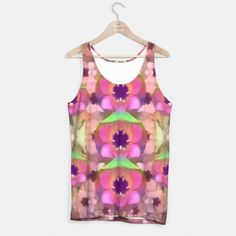 Lotus in the air Tank Top