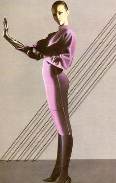 Azzedine Alaia, f/w 1983