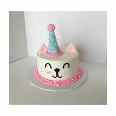 49 Best Cat Birthday Cakes Images