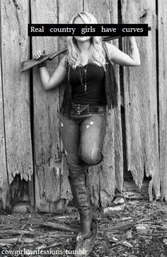 Real country girls have curves - Miranda Lambert