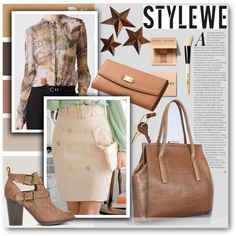StyleWe II/10 by tanja133 on Polyvore featuring moda, Crate and Barrel, Bobbi…