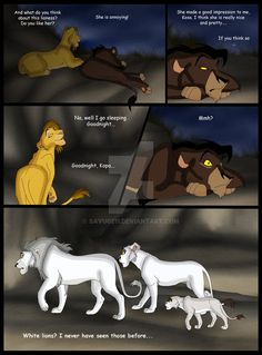 outcast by on DeviantArt Lion King Story, Lion King Fan Art, Lion King Kovu, Kimba The White Lion, Lion King Pictures, Kiara And Kovu, Lion King Drawings, The Lion King 1994, Le Roi Lion