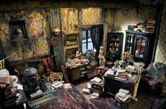 This would be a dream studio for me if it weren't only about two feet by one and a half in size.  Atelier No 3, by Ronan-Jim Sevellec.