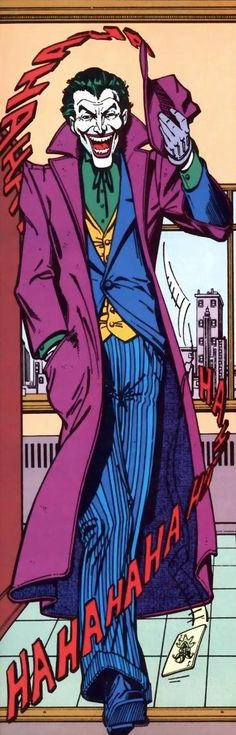The Joker (occasionally using the pseudonym 'Joseph Kuhr') is a fictional character, a supervillan in the DC Comics universe. Created by Jerry Robinson, Bill Finger and Bob Kane, he first appeared in Batman #1 in 1940.