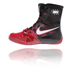 Bad Ass Boxing shoes. Nike HyperKO Gym Red / White - Black - Athlete Performance Solutions