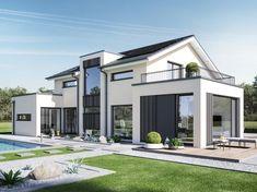 Modernes Haus U2013 Erstaunliche Bildgalerie Mit 22 Ideen | Architektur * Hauser  | Pinterest | Scenery And House