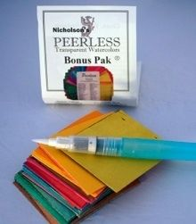 Peerless Watercolor Bonus Pack- Small offer deep, rich, and vibrant colors and are the perfect companion for the traveler.