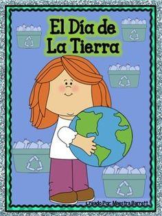 """Tarjetas de Vocabulario a Color  -1 Artículo: El día de la Tierra   -Preguntas de Comprensión  -Hoja de Escritura Narrativa   -Hoja de Escritura expositiva   -Hoja de Opinión con rúbrica  -Librito para estudiantes basado en el """"El día de la Tierra"""""""
