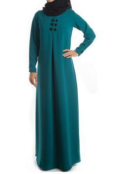 Abaya Fashion, Modest Fashion, Fashion Dresses, Moslem Fashion, Hijab Style Dress, Modele Hijab, Hijab Trends, Abaya Designs, Muslim Dress