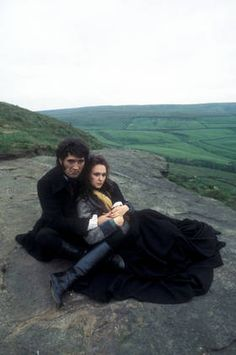 Catherine and Heathcliff. Wuthering Heights. BBC. 1978.