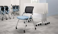 National Office Furniture Jiminy Nesting Chairs