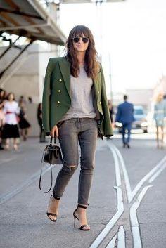 セレブのジャケットコーデ: STYLE HINTS