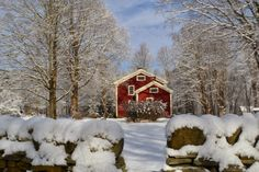 Focus On Killingworth and The Haddams Homestead in Winter