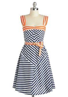 Every Which Wave Dress, #ModCloth