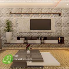 Tv Unit Interior Design, Room Interior, Interior Design Living Room, Living Room Tv Unit, Light Decorations, The Unit, House Design, India, Wall