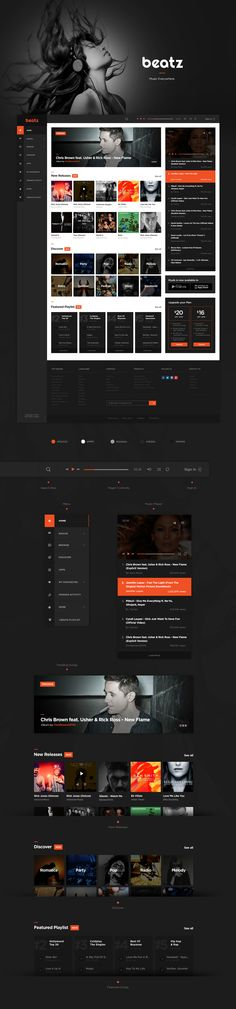 Beatz - Online Music Concept on Behance
