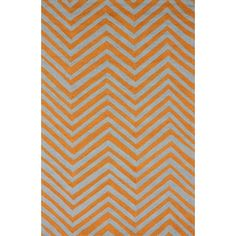 You'll love the Chelsea Chevron Marquis Orange Rug at AllModern - With Great Deals on modern Décor  products and Free Shipping on most stuff, even the big stuff.