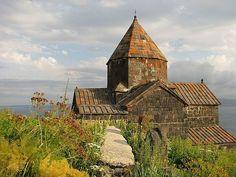 Armenia, nad jeziorem Sewan