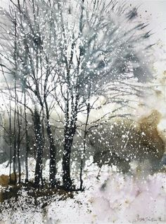 New England No. 193 by Sumiyo Toribe | $425 | watercolor painting | 30' h x 22' w
