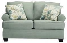 Уютный диван-двойка Daystar-Seafoam, Ashley
