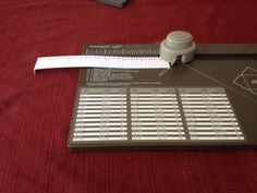 Envelope Punch Board Extension Ruler