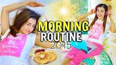 morning routine 2015 - YouTube