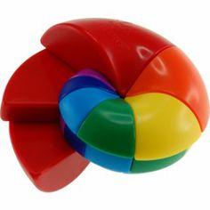Nautilus Cube - Meffert's Rotation Brain Teaser Puzzle
