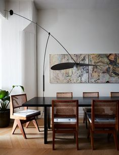5 Wise Clever Tips: Dining Furniture Makeover Buffet painted dining furniture tips.Outdoor Dining Furniture How To Build. Dining Chandelier, Dining Room Lighting, Dining Room Design, Dining Room Table, Table Lamps, Wood Table, Dining Chairs, Dining Furniture, Furniture Design