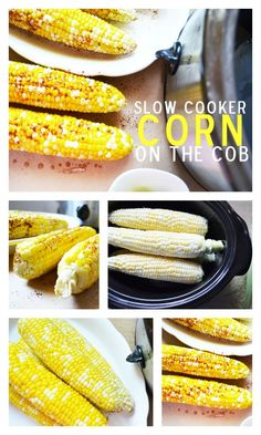Slow Cooker Corn on the Cob - Game changer - sweet perfectly cooked corn with no effort at all! http://www.superhealthykids.com/slow-cooker-corn-cob/