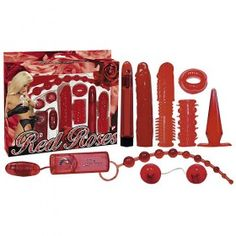 Red Roses Lovers Sex Toy KitWith Free U.K Delivery. This fantastically diverse kit is seductive in red and contains everything you could . Red Roses, Lovers, Valentines, Kit, Stuff To Buy, Blushes, Violets, Cherry, Strawberry