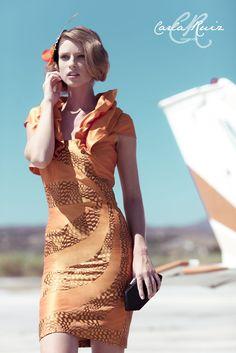 Vestido de Cocktail de Carla Ruiz 2012 - Modelo 86212