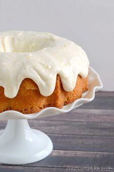 Lemon Bundt Cake with Lemon Cream Cheese Frosting