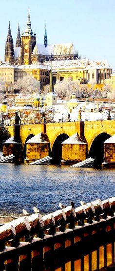 Romantic View of Gothic Castle with the Famous Charles Bridge in Prague, Czech Republic ~ 22 Reasons why Czech Republic must be in the Top of your Bucket List Places Around The World, Travel Around The World, Around The Worlds, Albania, Places To Travel, Places To See, Wonderful Places, Beautiful Places, Gothic Castle