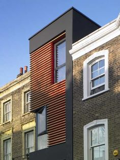 Adventurous scheme in a infill site in old stokey !   76 Newington Green by Amenity Space