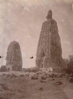 Bodh gaya before restoration - Bodh Gaya - Wikipedia, the free encyclopedia