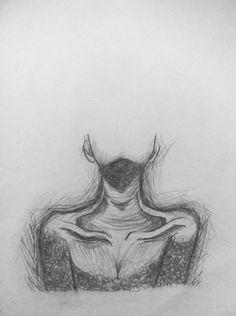 # pencil - Art Drawing - Art World Dark Art Drawings, Pencil Art Drawings, Art Drawings Sketches, Drawing With Pencil, Sketch Art, Sad Drawings, Horse Drawings, Girl Sketch, Sketch Ideas