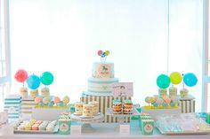 Merry-go-round 1st birthday by Elvira Ramos   Eva Marie Photography   100 Layer Cakelet