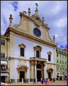 Lisboa (Portugal). Iglesia de Santo Domingo.