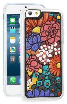 Zero Gravity  Woodstock  Embroidered iPhone 6  amp  6s Case available at   Nordstrom e1c36c67c80f6