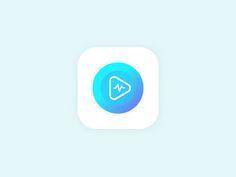 Music app icon by Ashish Sharma
