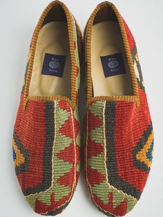 This pair of loafers is a one-of-a-kind. It is literally impossible to create two identical pairs of shoes, so the shoes you receive will be competely unique, never to be exactly reproduced.