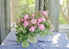 VW Garden: June Peonies in a Vase