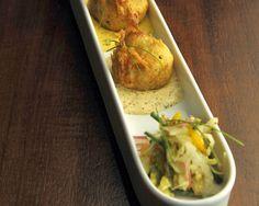 Crab Beignets Recipe (Photo courtesy of Restaurant R'evolution)