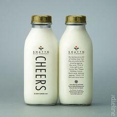 tape:  TheDieline.com: Brand Spotlight: Shatto Milk Company