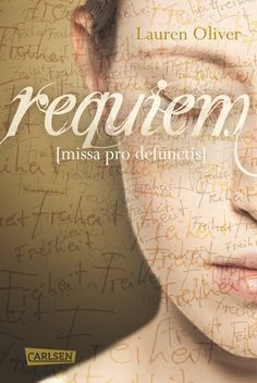 German: Requiem by Lauren Oliver. Love this title page, way better than the English cover!