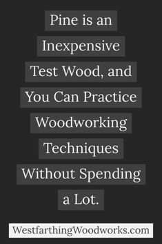Pine as a test species is one great way to conserve our rare wood for future woodworkers. There are 11 more in the post. The best part is, you hardly have to change much to make a difference. Woodworking Education, Woodworking Store, Woodworking Books, Buy Reclaimed Wood, Tree Cutter, Wood Online, Used Pallets, Got Wood, Make Good Choices